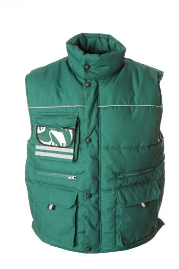 GILET- GREAT BRITAIN- TRAPUNTATO MULTITASCA CON PORTABADGE
